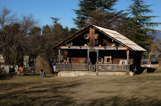 The Giorgi Chitaia Open Air Museum of Ethnography (photo/ Kris Duda@flickr, CC BY 2.0)