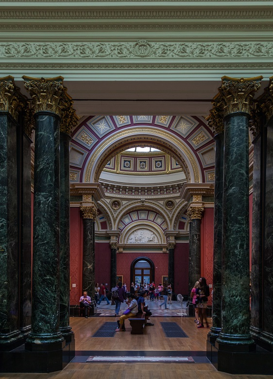 The Barry Rooms, the National Gallery in London (圖片來源: Diego Delso@wikimedia, CC BY-SA 4.0)
